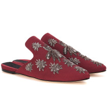 Verzierte Slippers Multi Ragno