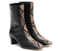 Ankle Boots Molly aus Leder