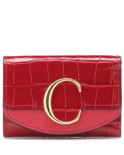 Portemonnaie C aus Leder