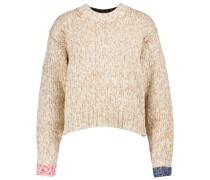 Pullover mit Baumwollanteil