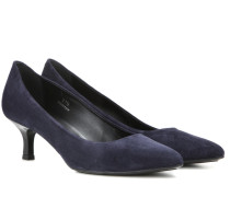 Pumps Gomma Decollete aus Veloursleder