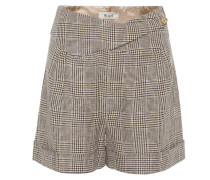 Shorts Basque aus Leinen und Wolle