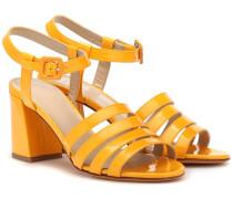 Sandalen Palma High aus Lackleder