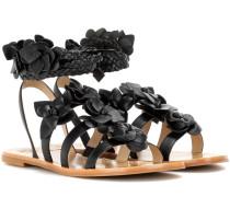 Gladiatoren-Sandalen Blossom aus Leder