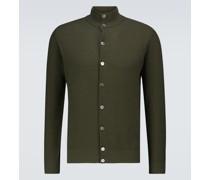 Pullover aus Baumwoll-Piqué