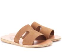 Sandalen Apteros aus Veloursleder