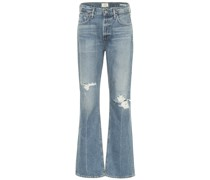 High-Rise Bootcut Jeans Libby