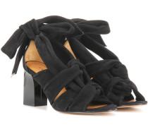 Sandaletten Hoshiko aus Veloursleder