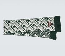 Schal aus Wolle und Kaschmir-Jacquard