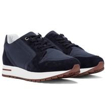 Sneakers My Wind mit Veloursleder