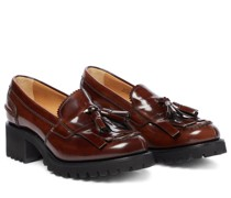 Plateau-Loafers Colleen aus Leder