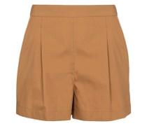 Shorts mit Seidenanteil
