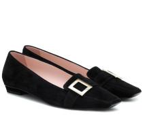 Loafers Belle Vivier aus Veloursleder