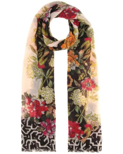 Schal aus Cashmere mit Print