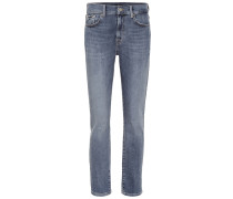 High-Rise Jeans Relaxed Skinny