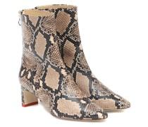 Ankle Boots Ivy aus Leder