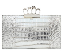 Clutch Four Ring Medium aus Leder