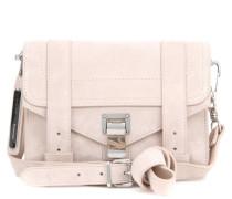 Tasche PS1 Mini Crossbody aus Veloursleder