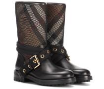 Boots Knightslane mit Leder