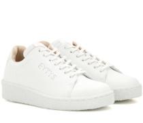 Sneakers Ace aus perforiertem Leder