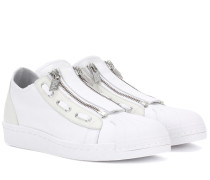 Sneakers Super Zip aus Leder