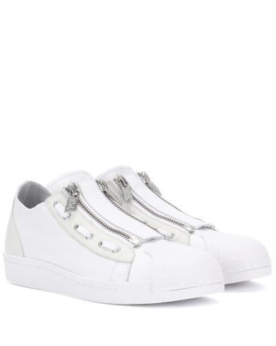 Sneakers Super Zip aus Leder