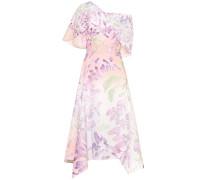 One-Shoulder-Kleid aus Baumwolle