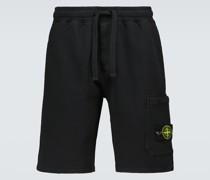 Shorts aus Baumwoll-Fleece
