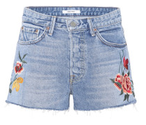 Jeans-Shorts Cindy mit Applikationen