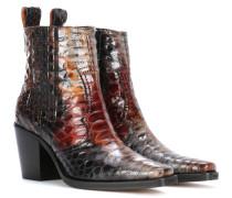 Ankle Boots Maryse aus Leder