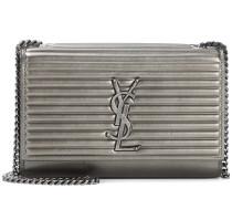 Schultertasche Kate Small aus Metallic-Leder