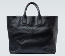 Tote Bag Maxi aus Intrecciato-Leder