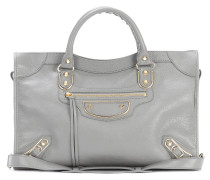 Tasche Classic Metallic Edge City aus Leder