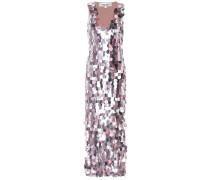 Kleid aus Seide mit Pailletten