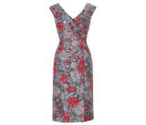 Off-Shoulder Kleid aus Brokat
