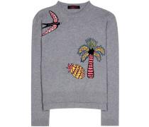 Pullover aus Schurwolle und Cashmere