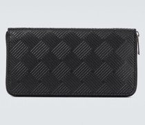 Geprägtes Portemonnaie aus Leder