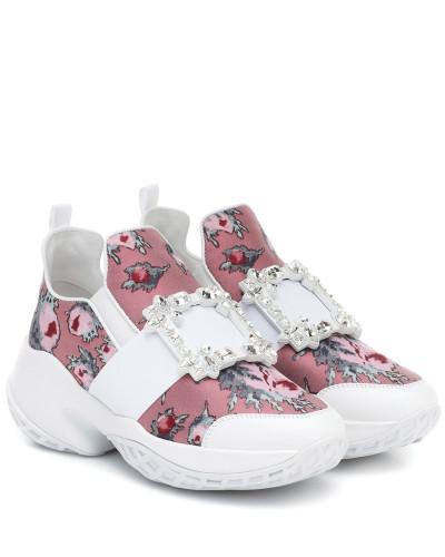 Sneakers Viv' Run mit Leder