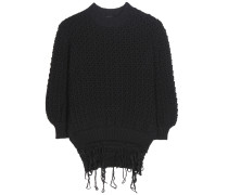Oversize-Pullover aus Wolle
