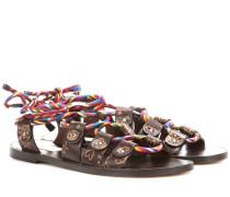 Garavani Sandalen Santeria aus Leder