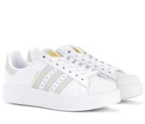 Sneakers Superstar Bold aus Leder