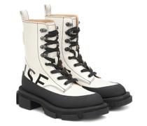 X Both Ankle Boots Gao aus Leder