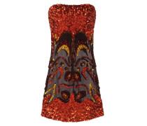 Kurzes Kleid mit Pailletten