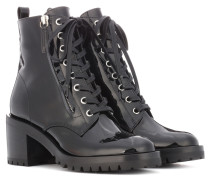 Ankle Boots Croft aus Lackleder