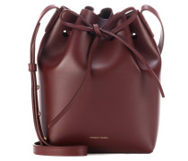 Bucket-Bag Small aus Leder