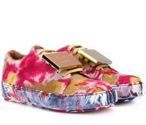Sneakers Adriana T&D aus Ponyhaar