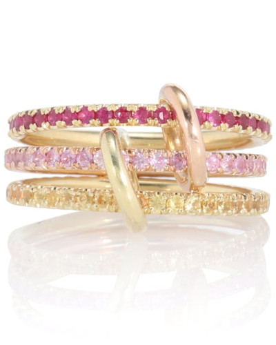 Ring Aurora Mix aus 18kt Gelbgold und 18kt Roségold