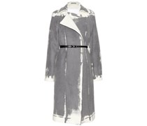 Mantel aus Wolle und Cashmere