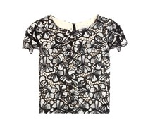 Cropped-Top Eve aus Spitze