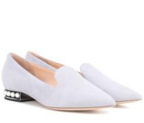 Loafers Casati aus Veloursleder
